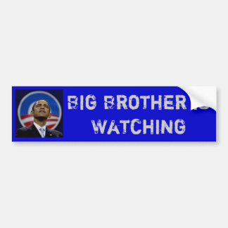 Obama - Big Brother is Watching Bumper Sticker