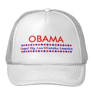Obama Big Mistake America Cap