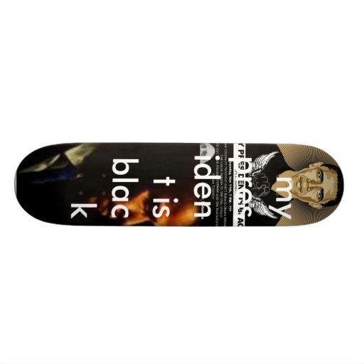 obama board skate board deck