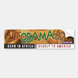 """Obama """"Born in Africa"""" Bumper Sticker"""