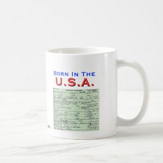 Obama: Born In The U.S.A. Mugs