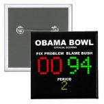 Obama Bowl - Official Scoring 15 Cm Square Badge