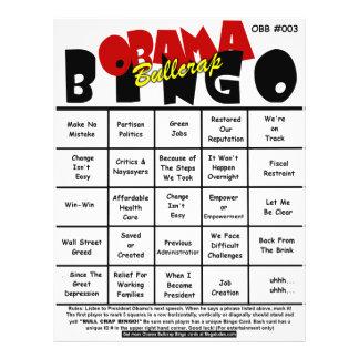 Obama Bullcrap Bingo #003 & #004 21.5 Cm X 28 Cm Flyer