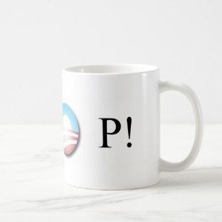 Obama Bumper Sticker Basic White Mug