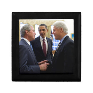 Obama Bush and Clinton Gift Box