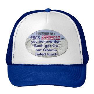 obama bush mesh hat