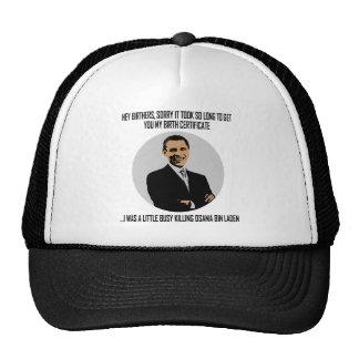 obama busy killing osama hat