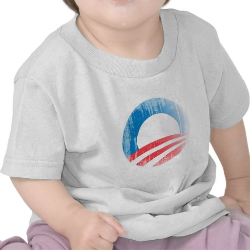 OBAMA BUTTON PLAIN Vintage.png T-shirt