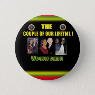 OBAMA BUTTONS! 6 CM ROUND BADGE
