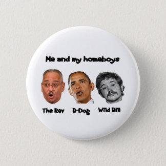 Obama Cabinet 6 Cm Round Badge