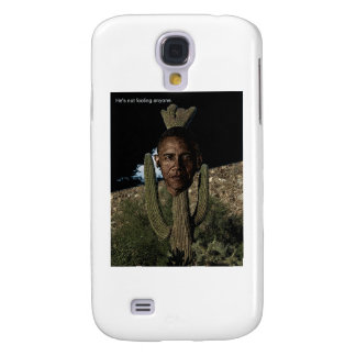 Obama Cactus Samsung Galaxy S4 Covers