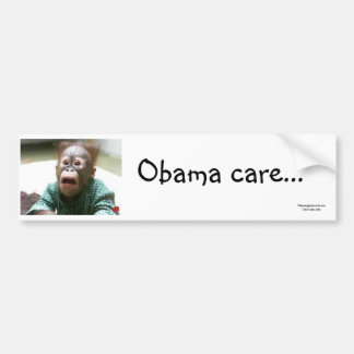 Obama care II Bumper Sticker