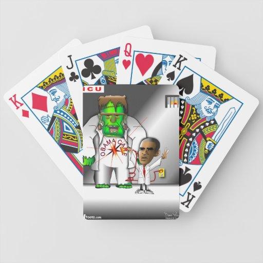 Obama Care in ICU Deck Of Cards