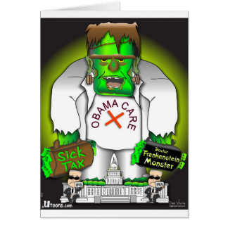 Obama Care Monster Card