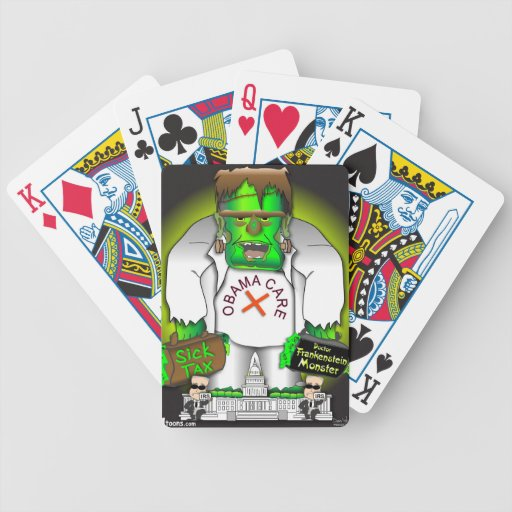 Obama Care Monster Poker Cards