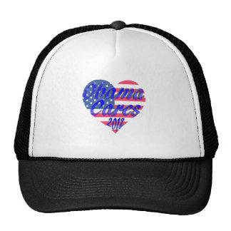 Obama Cares 2012 Hats