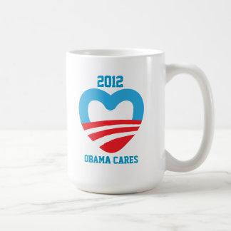 Obama Cares 2012 Mugs