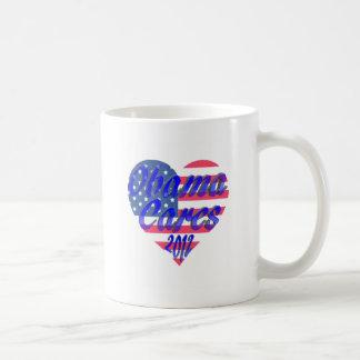 Obama Cares 2012 Coffee Mug