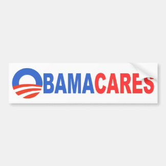 Obama Cares Bumper Sticker