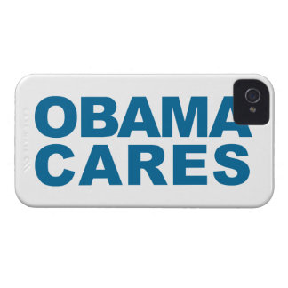 Obama Cares iPhone 4 Covers