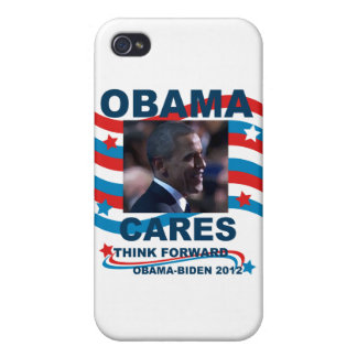 Obama Cares iPhone 4/4S Covers