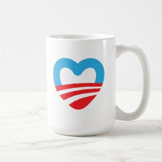Obama Cares Coffee Mugs