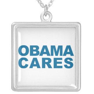 Obama Cares Pendants