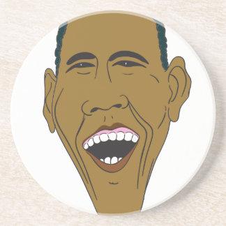 Obama Caricature Coaster