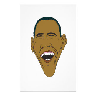 Obama Caricature Stationery