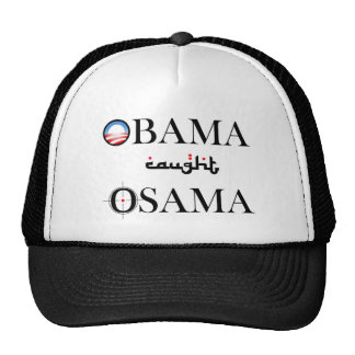 Obama Caught Osama Mesh Hat