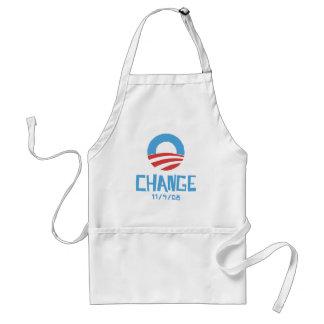 Obama Change Adult Apron