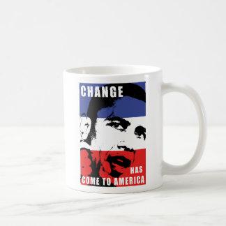 Obama - Change Has Come to America Coffee Mug