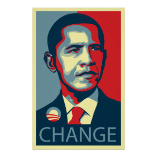 Obama Change Print