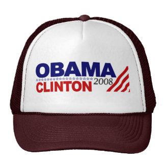Obama Clinton 2008 Mesh Hat
