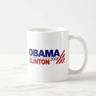 Obama Clinton 2008 Mugs