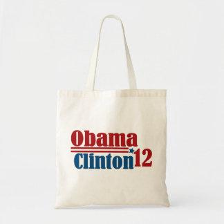 obama clinton 2012 bag