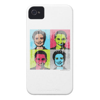 Obama Clinton Faded.png iPhone 4 Cases