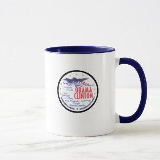 OBAMA CLINTON Pres-VP Mug