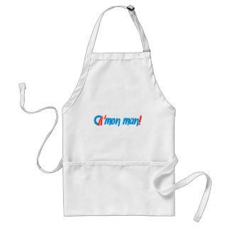 obama cmon man! adult apron