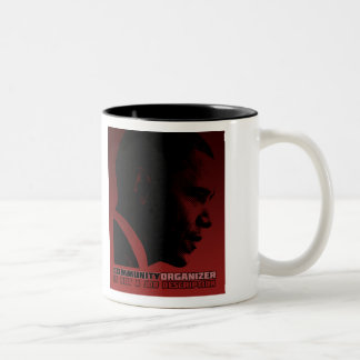 Obama Community Organizer Two-Tone Coffee Mug