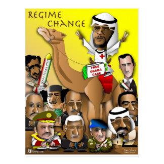 Obama Crude Policy Postcard