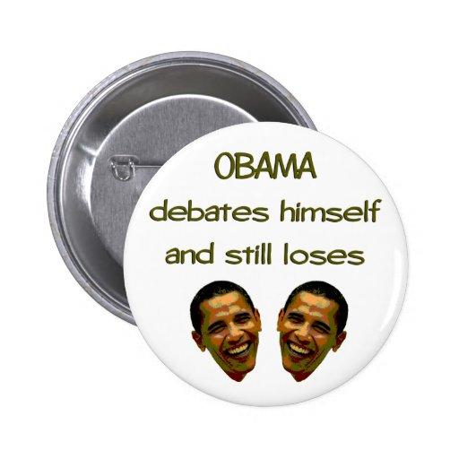 Obama Debate Button