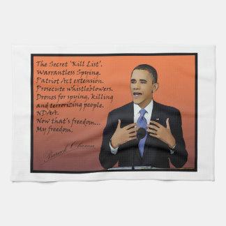 obama do care towel