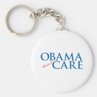 Obama Doesn t Care Key Chain