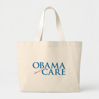 Obama Doesn't Care Tote Bags