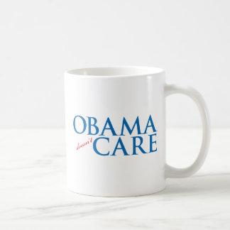 Obama Doesn't Care Coffee Mugs