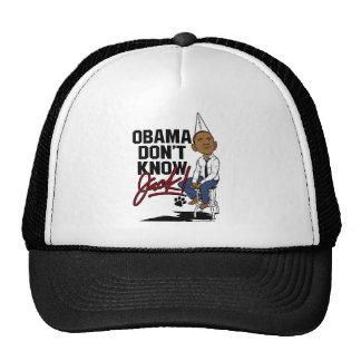 Obama Don't Know Jack Mesh Hat