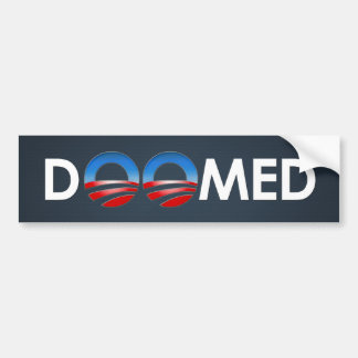 Obama Doomed Bumper Sticker