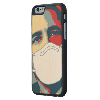 OBAMA EBOLA MASK CARVED® MAPLE iPhone 6 SLIM CASE