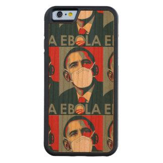 OBAMA EBOLA PROPAGANDA CARVED® CHERRY iPhone 6 BUMPER CASE